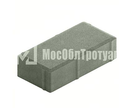 Плитка тротуара «Вибропресс кирпич» Серый