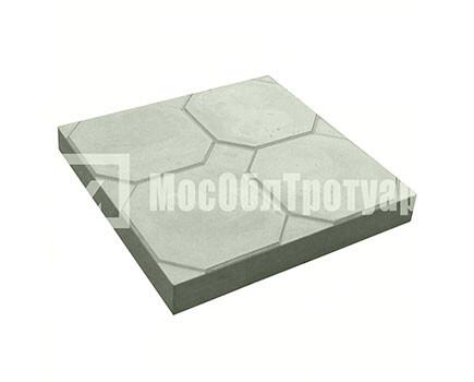 Тротуарная плитка «Окно» (350Х350Х50) Серый