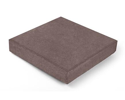 Тротуарная плитка Квадрат коричневый