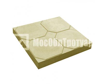 Тротуарная плитка «Окно» (350Х350Х50) Желтый