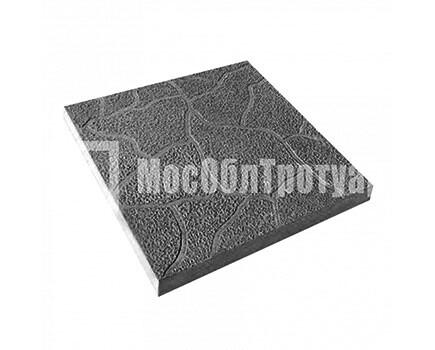 Тротуарная плитка Тучка 300х300х30 МОТ Черный