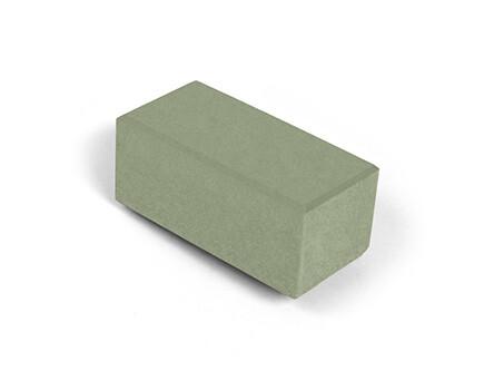 Брусчатка для тротуара зеленый