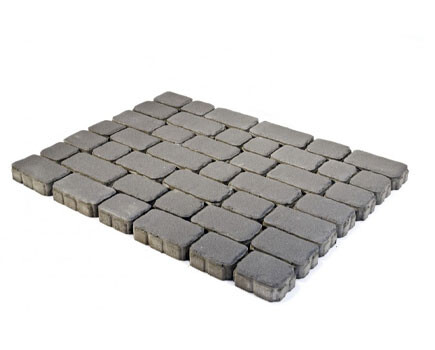 Тротуарная плитка «Ривьера» Серый
