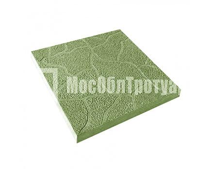 Тротуарная плитка Тучка 300х300х30 МОТ Зеленый