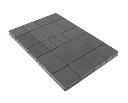 Тротуарная плитка «Мозаика» Серый