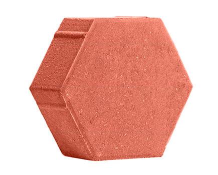 ШЕСТИГРАННИК-230Х197Х80-Ярко-красный