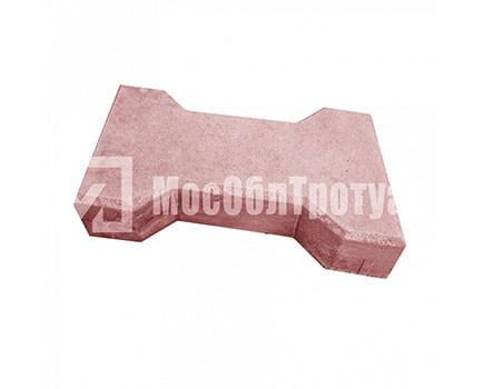 Плитка тротуарная «Катушка» Красная