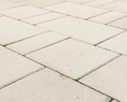 Тротуарная плитка «Старый город Ландхаус» Белый