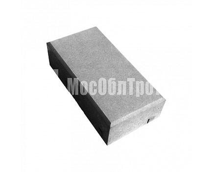 Тротуарная плитка «Кирпич» 45 Черный