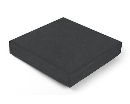 Тротуарная плитка Квадрат черный