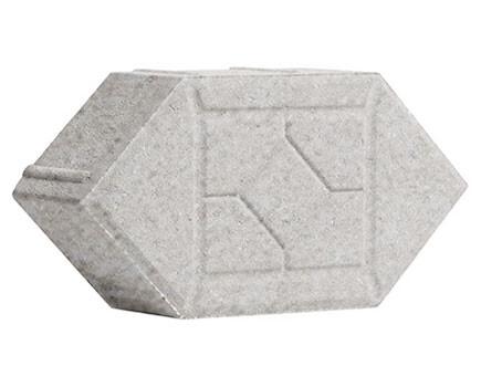 Ромб-фигурный-150Х300Х80-Белый