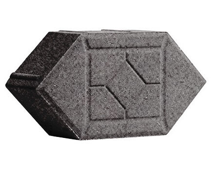 Ромб-фигурный-150Х300Х80-Черный