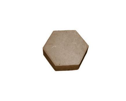 Шестиугольник Коричневый