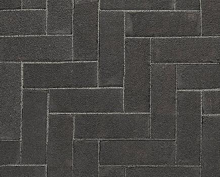 Тротуарный клинкер «Dikformaat» Черный
