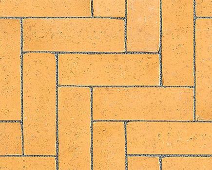 Тротуарный клинкер «Dikformaat» оранжевый
