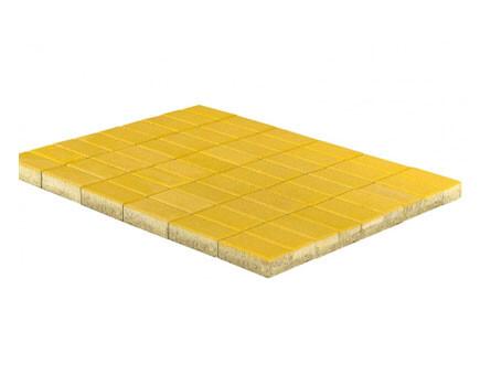 Тротуарная плитка «Прямоугольник» Желтый