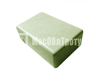 Тротуарная плитка «Одинарный брук» (180Х120Х60) Зеленый