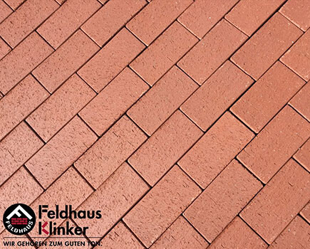 Клинкерная брусчатка «Feldhaus Klinker» Оранжевый