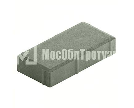 Плитка тротуара «Вибропрессованный кирпич» Серый