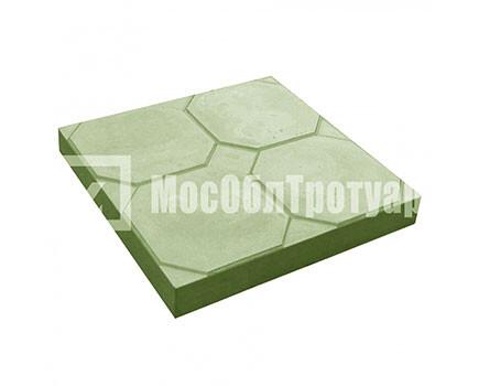 Тротуарная плитка «Окно» (350Х350Х50) Зеленый